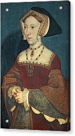 Jane Seymour Acrylic Print by Holbein
