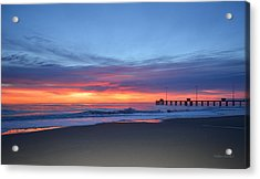 Acrylic Print featuring the photograph January 8, 2018 by Barbara Ann Bell