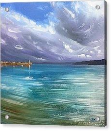 January Light, St.ives Harbour  Acrylic Print