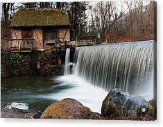 January Morning At Gomez Mill #2 Acrylic Print by Jeff Severson