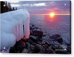 January Sunrise Acrylic Print