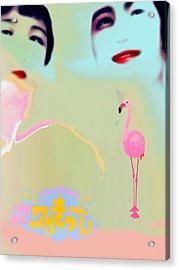Japanese Beauties Acrylic Print