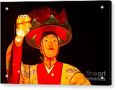 Japanese Dancer Lantern 2 Acrylic Print