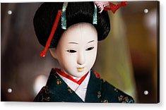 Japanese Doll Acrylic Print