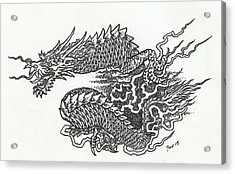 Japanese Dragon Acrylic Print