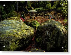 Japanese Garden Lantern Acrylic Print