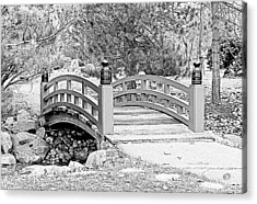 Acrylic Print featuring the photograph Japanese Garden by Rodney Campbell
