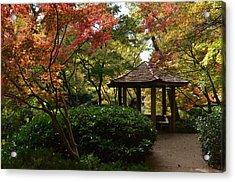 Acrylic Print featuring the photograph Japanese Gardens 2577 by Ricardo J Ruiz de Porras