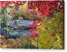 Japanese Gardens Acrylic Print