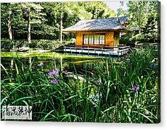 Japanese Gardens II Acrylic Print