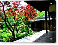 Japanese House Acrylic Print by Andrew Dinh