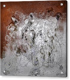 Acrylic Print featuring the painting Japanese Impressions#2 by Karo Evans