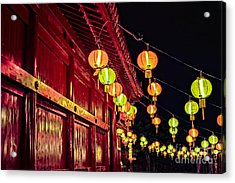 Japanese Lanterns 10 Acrylic Print