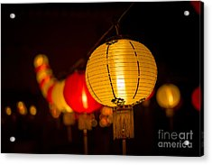 Japanese Lanterns 3 Acrylic Print