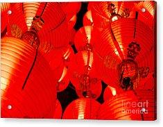 Japanese Lanterns 7 Acrylic Print