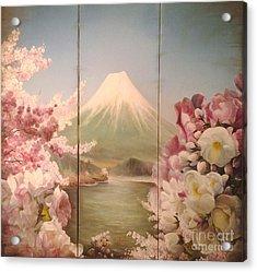 Japanese Spring Acrylic Print by Sorin Apostolescu