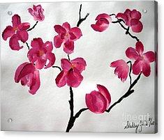Japanese Tree Acrylic Print