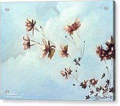 Japonicas Acrylic Print