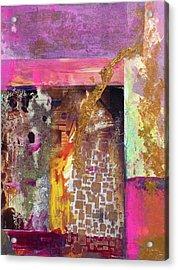 Jaquar Gold Acrylic Print