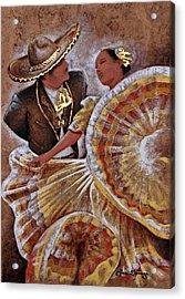 Jarabe Tapatio Dance Acrylic Print
