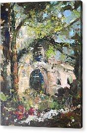 Jardin D'au Paradis  Acrylic Print