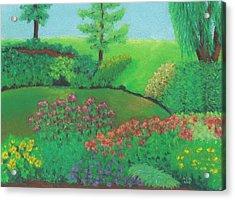 Jardin De Juillet Acrylic Print