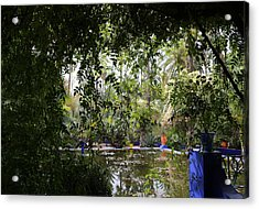 Acrylic Print featuring the photograph Jardin Majorelle 2 by Andrew Fare