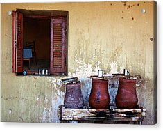 Jars Acrylic Print by Armando Picciotto