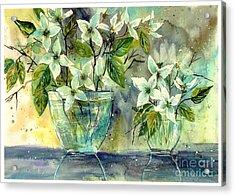 Jasmine In Glass Acrylic Print