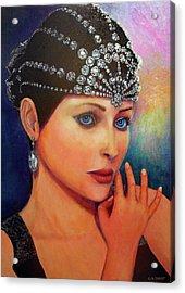 Jasmine Acrylic Print by Michael Durst