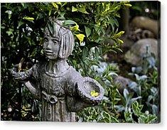 Jasmine Statue Acrylic Print by Teresa Mucha