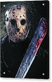 Jason Voorhees Acrylic Print