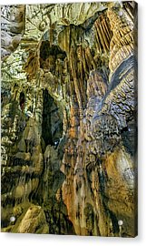 Jasovska Cave, Jasov, Slovakia Acrylic Print by Elenarts - Elena Duvernay photo