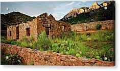 Jaun Tabo Cabin, Albuquerque, New Mexico Acrylic Print