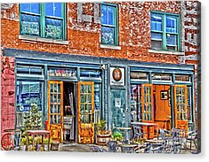 Java House Acrylic Print