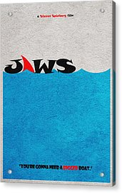 Jaws Acrylic Print by Ayse Deniz