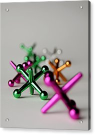 Jax  Number 2 Acrylic Print by Mark Weaver