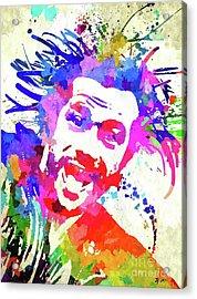 Jay Kay Jamiroquai Acrylic Print by Daniel Janda