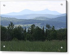 Jay Peak From Irasburg Acrylic Print