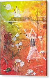 Jayzen - The Little Gypsy Dancer Acrylic Print