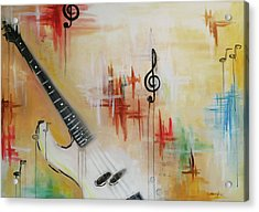 Jazz 001 Acrylic Print