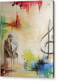 Jazz 002 Acrylic Print