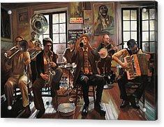 Jazz A 7 Acrylic Print