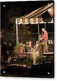 Jazz At The Boathouse Subdued Acrylic Print