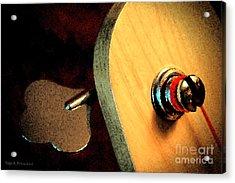 Jazz Bass Tuner Acrylic Print