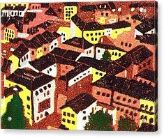 Jazz Cafe Acrylic Print