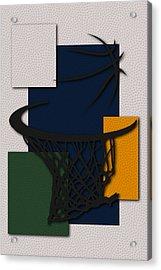 Jazz Hoop Acrylic Print by Joe Hamilton
