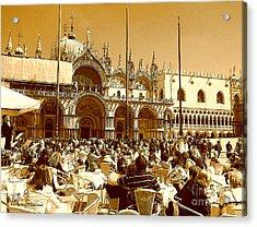 Jazz In Piazza San Marco Acrylic Print