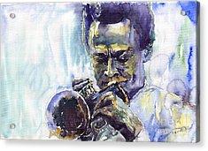 Jazz Miles Davis 10 Acrylic Print