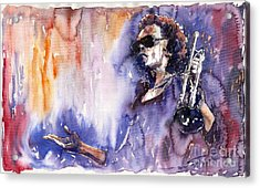 Jazz Miles Davis 14 Acrylic Print
